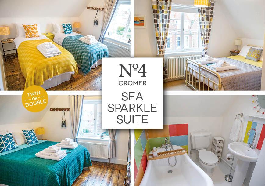 No4 Cromer Sea Sparkle Suite