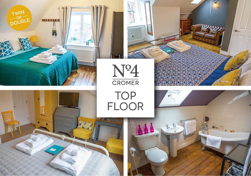 No4 Cromer Top Floor Suite